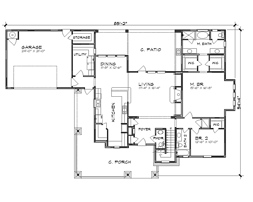 Tall house floor plans