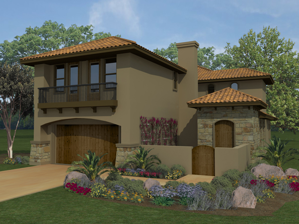The Savino 4231 - 4 Bedrooms and 2 Baths | The House Designers