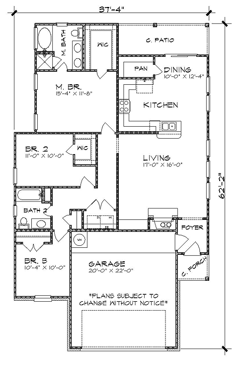the taylor 4809 3 bedrooms and 2 5 baths the house