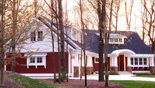 image of The Red Cottage with Optional Bonus Room House Plan