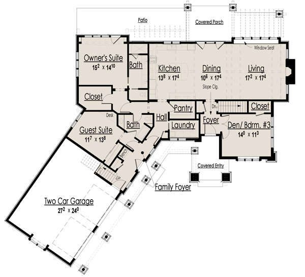 Home ideas for Main level floor plans