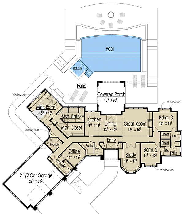 Nantucket Style House Plans Floor Plans