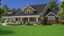 image of Bungalow with Luxury Master Suite House Plan