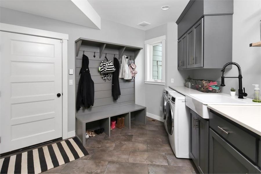 House Plan 6846: Laundry/Mud Room