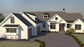 image of CONT. FARMHOUSE 812 House Plan