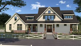 image of 17-112 Contemporary Farmhouse 807 House Plan