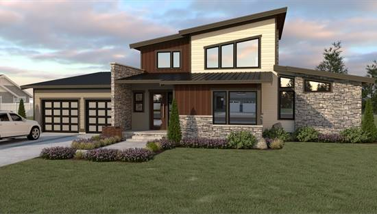 image of 19-049 Contemporary 212 House Plan