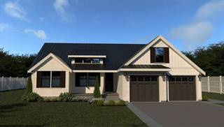 image of 18-125 Cont. Farmhouse 815 House Plan