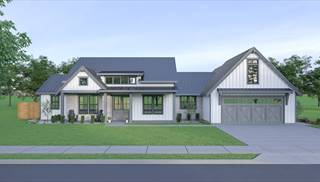image of Cont Farmhouse 835 House Plan