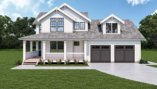 image of Craftsman 304 House Plan