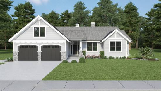 image of Craftsman 315 House Plan