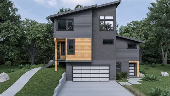 image of Contemporary 221 House Plan