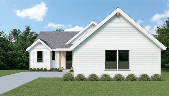 image of Craftsman 378 House Plan
