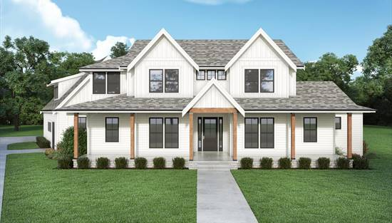 image of Farmhouse 906 House Plan