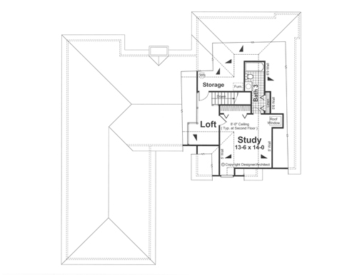 Sutherland 1107 3 Bedrooms And 2 Baths The House Designers