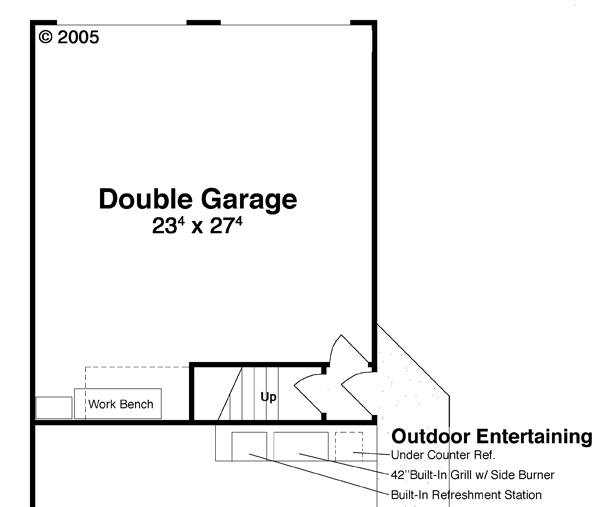Garage w/ Apt. Above