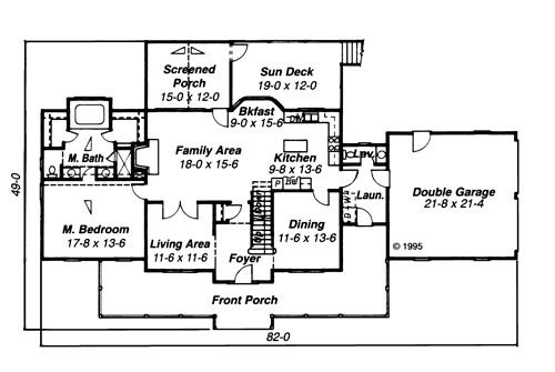 garrison house plan