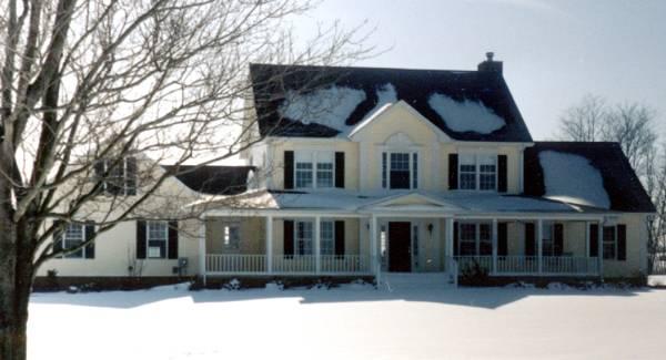 garrison 5735 4 bedrooms and 3 baths the house designers 4 bedroom 2 bath cottage house plan alp 01u1