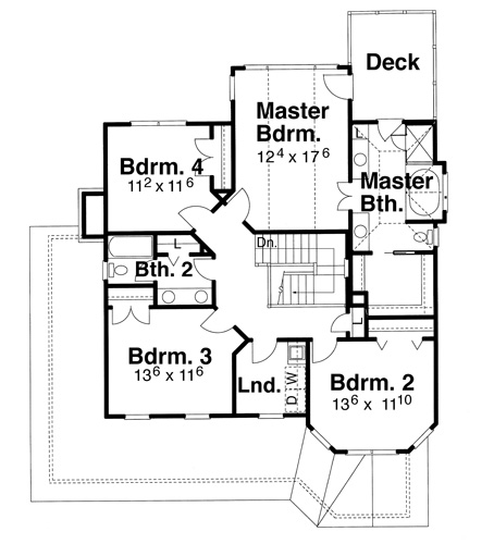 Floor plan for the charmed house for Manor blueprints