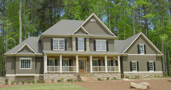 House Plans With Photos: Shenandoah 5733 - 4 Bedrooms And 3 Baths