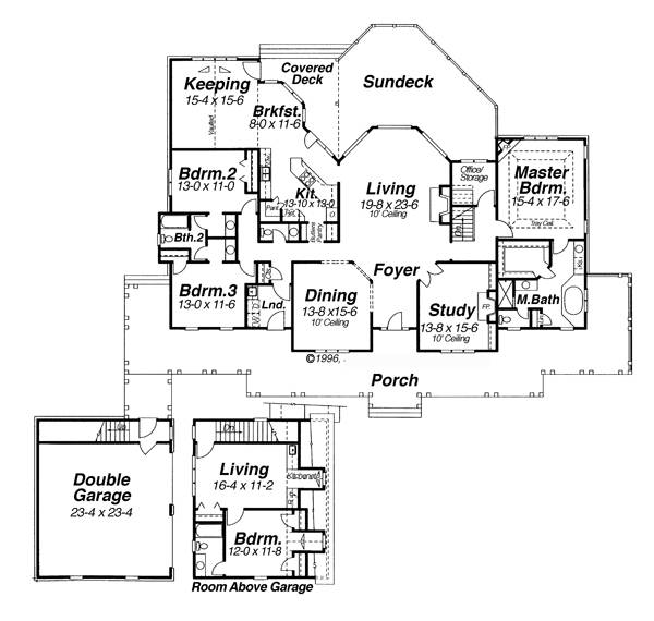 Carnegie 5843 3 Bedrooms And 2 Baths The House Designers