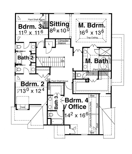 Devonshire a 7948 4 bedrooms and 3 baths the house for Devonshire floor plan