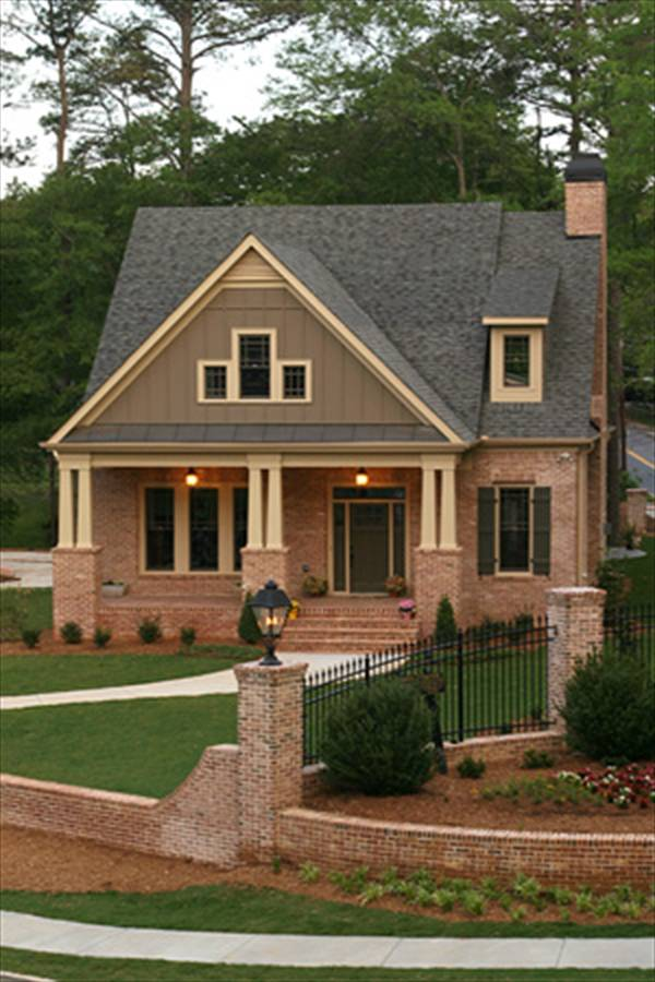 Small Brick Home Designs Home Design And Style