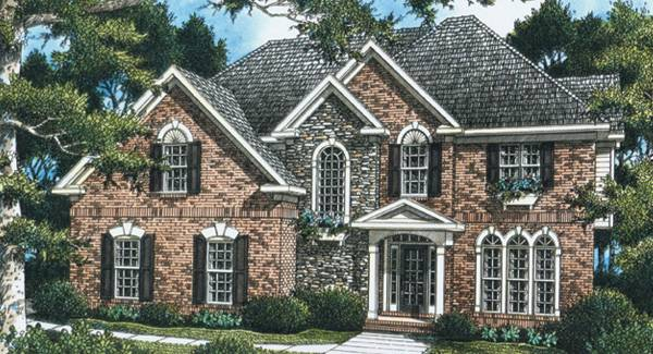 Madison 5832 5 Bedrooms And 3 5 Baths The House Designers