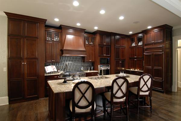 Orleans 8066 4 bedrooms and 3 baths the house designers for House plans with gourmet kitchens