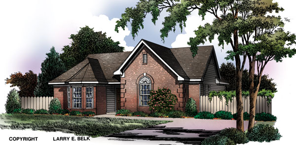Willow 8469 3 bedrooms and 2 5 baths the house designers for The willow house plan