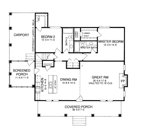 Timber Floor Plans: Rolling Timber 8392 - 2 Bedrooms And 2.5 Baths