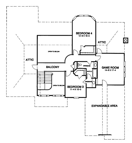 Pottery Court Lake Elsinore Floor Plans: The Normandy House Plan