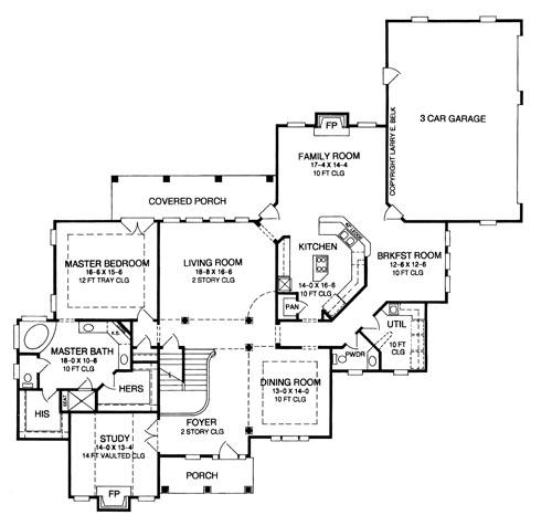 Days Rest   Bedrooms and Baths   The House DesignersFirst Floor Plan