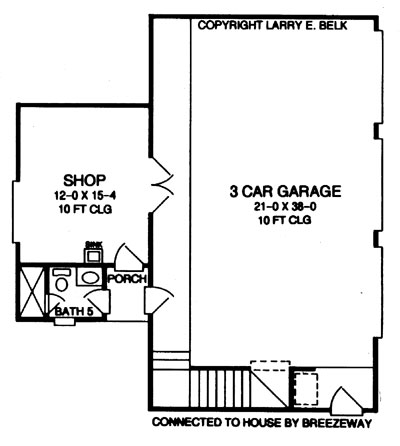 HOUSE PLAN WITH DETACHED GARAGE House Plans Home Designs – Floor Plans With Detached Garage