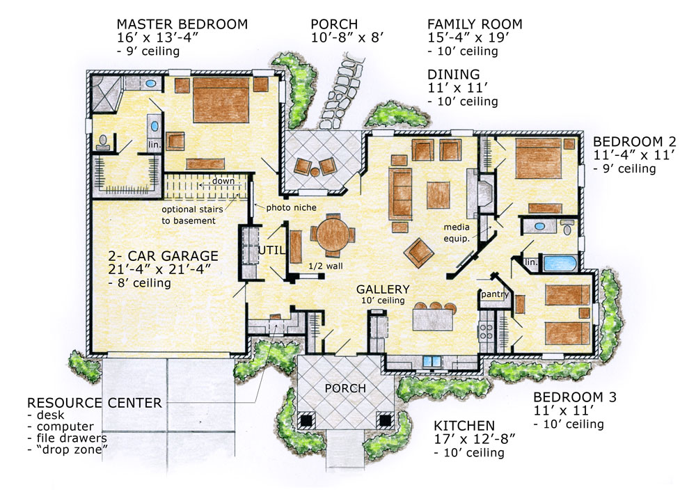 Award winning ranch floor plans gurus floor for Award winning ranch house plans