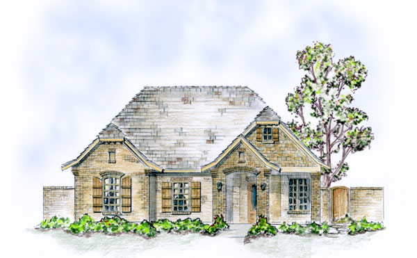 pemberley 9469 3 bedrooms and 2 5 baths the house s small french country with - 1 Story French Country House Plans