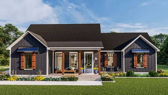 image of Blueberry Ridge House Plan