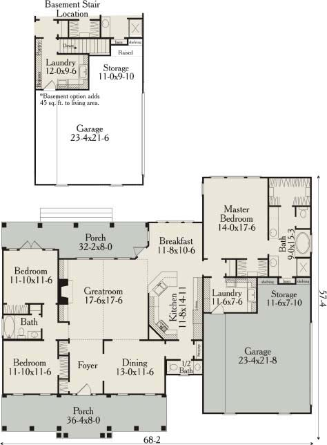 Brownstone 3659 3 bedrooms and 2 baths the house designers for Brownstone house plans