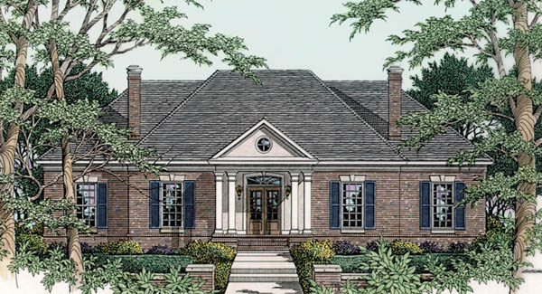 Ashby 4596 3 bedrooms and 2 baths the house designers for Ashby house plan