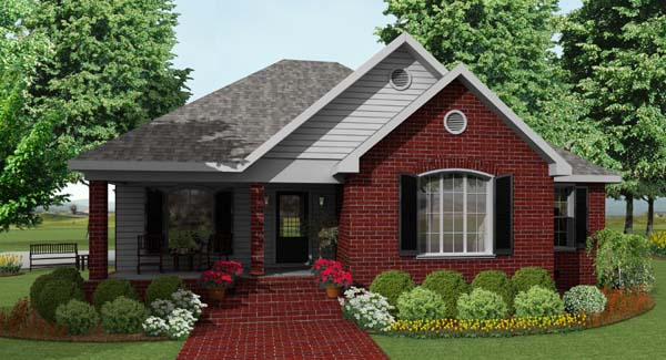 Springville 5610 3 bedrooms and 2 5 baths the house for Thehousedesigners com home plans