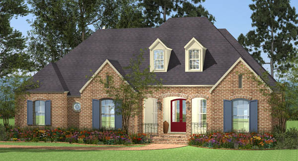Spacious Traditional House Plans - The House Designers