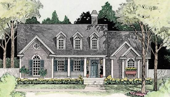 image of Meadow Lake House Plan