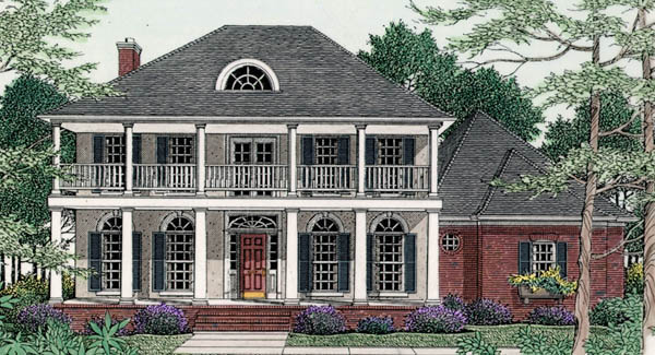 Chadsworth 3514 4 bedrooms and 4 5 baths the house Old plantation house plans