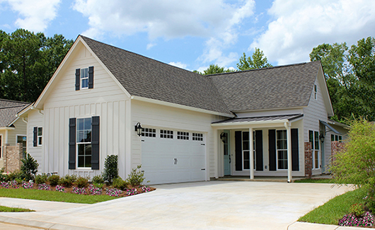 House Plan 1558 - Right Side Garage and Porch Entry