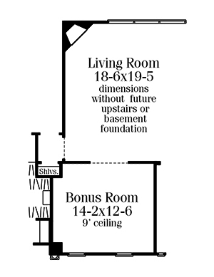 Optional Floor Plan