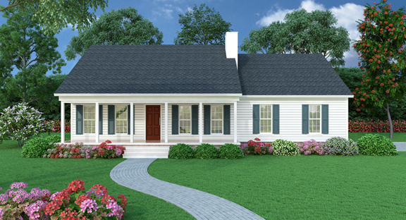 Sutherlin House Plan