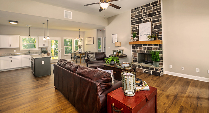 Sutherlin Open Living Area