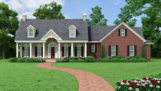 image of Southborough Cottage House Plan House Plan