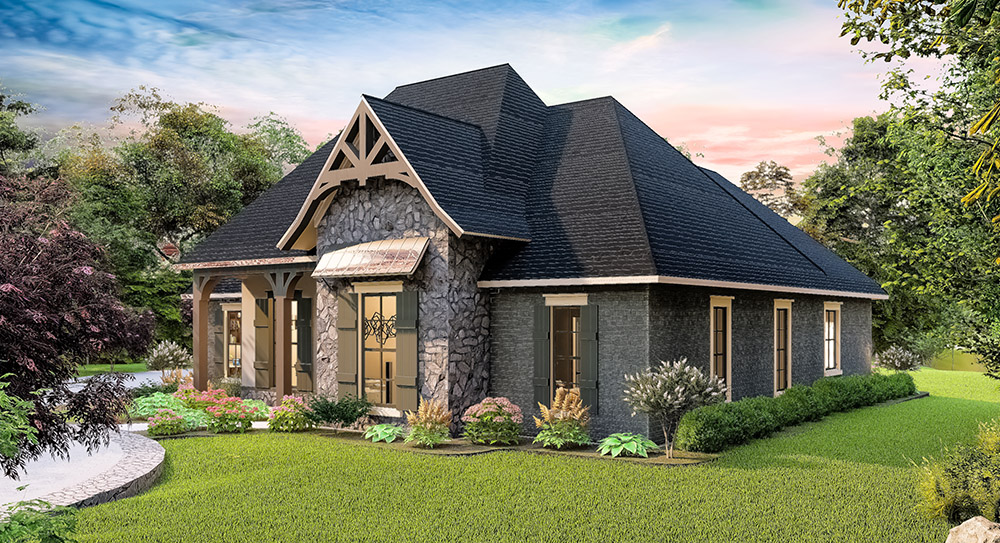 The Timberstone House Plan