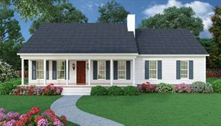 image of sutherlin small ranch house plan - Country Home Plans